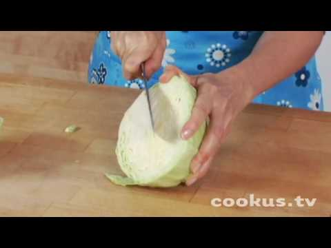 How to Cut Up a Cabbage