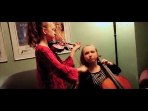 How to Practice...With Your Sister! Sempre Sisters Fiddling Duo from Bellevue, Washington