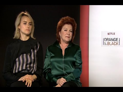 Taylor Schilling and Kate Mulgrew in Madrid
