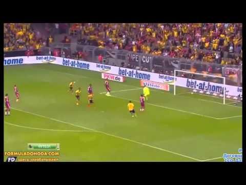 Henrikh Mkhitaryan ★ Great Goal vs Borussia Dortmund 2-0 Bayern Monaco ★