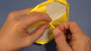 How To Fold An Origami Spinning Top By Jeremy Shafer