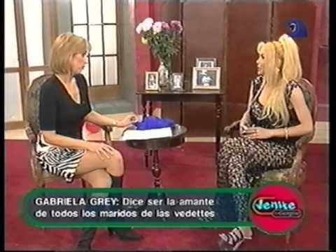 "Gabriela Grey  con  Georgina Barbarrosa  en  ""Venite  con Georgina"""