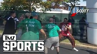 New Mike Scott Brawl Video Shows Crazy Haymakers With Eagles Fans | TMZ Sports