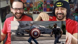 Captain America: The Winter Soldier - (Mission Impossible: Fallout Style) REACTION!!!