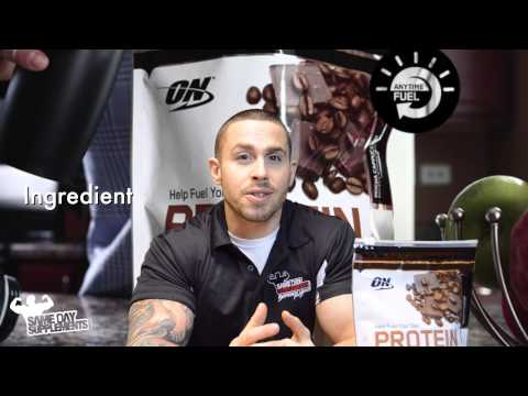Optimum Nutrition Protein Energy review by SameDaySupplements.com