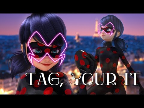 Marinette akuma FANMADE || Tag, You're It