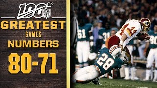 100 Greatest Games: Numbers 80-71 | NFL 100