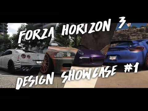 Meine Designs   Forza Horizon 3 Design Showcase #1   CarPorn   FavGraphs
