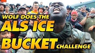 WOLF's ALS ICE BUCKET Challenge!!!!