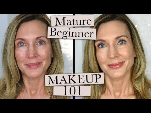 Makeup 101 ~ Beginner Makeup for Mature Women Who Don't Wear Makeup!