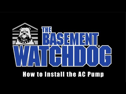 How to install a Basement Watchdog Primary Sump Pump. Sump Pump installation tips
