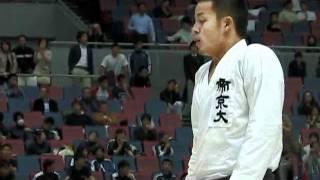 空手道部 「第55回全日本大学空手道選手権大会~男子・組手~」