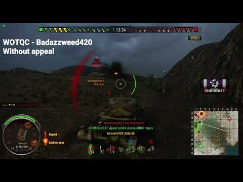 WOTQC - Badazzweed420 - World of Tanks Xbox - Sentence pronounced, and executed