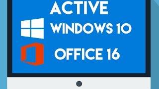 ACTIVE Windows 10 KmsAuto May-2016