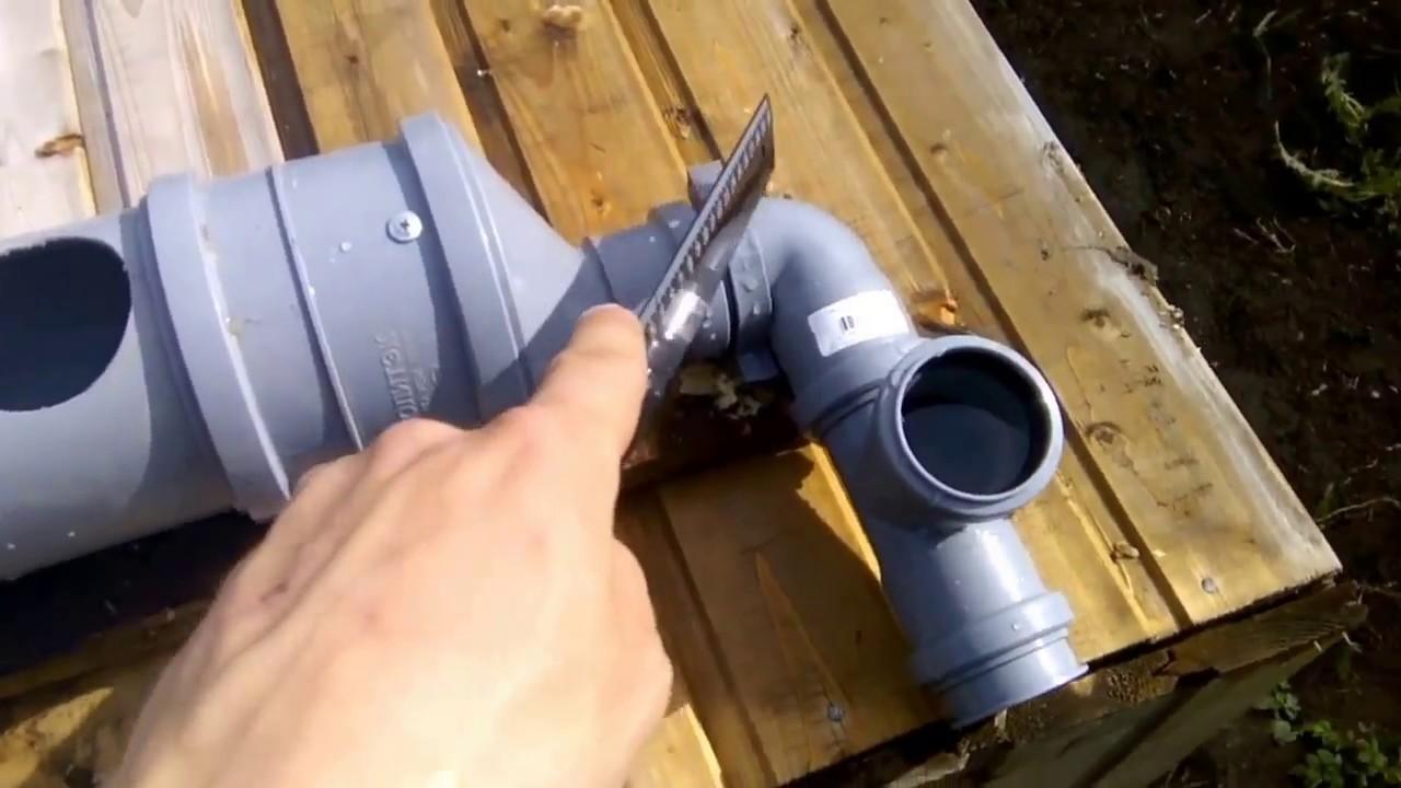 Кормушки для кур из канализационной трубы своими руками 29