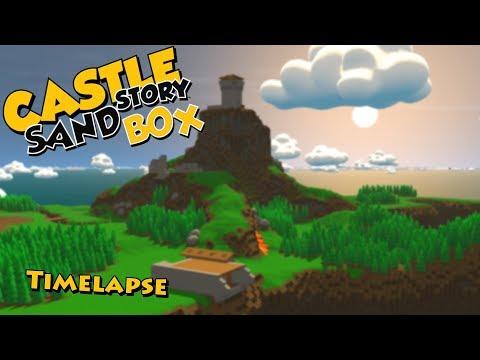 Castle Story | Timelapse + Battle | Sandbox | Fostower