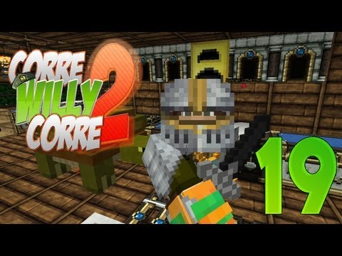 """LA MEJOR ESPADA!!"" - Episodio 19 - ""Corre Willy Corre 2"" - MINECRAFT Mods Serie 