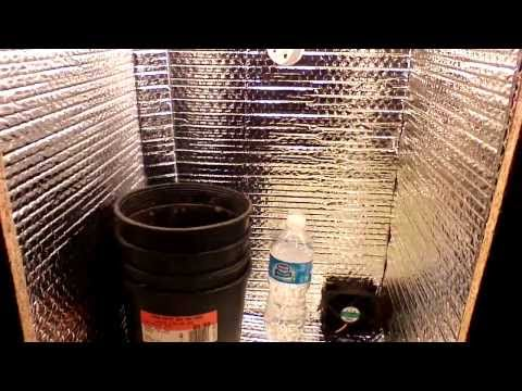 homemade stealth grow box-speaker version