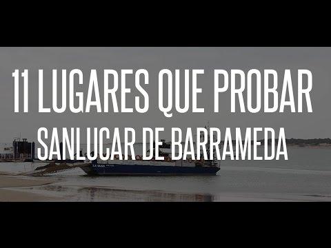 11 LUGARES QUE PROBAR EN SANLUCAR DE BARRAMEDA