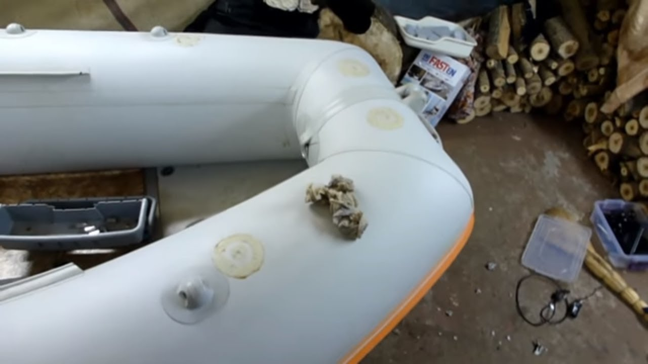 Тюнинг пластикового катера своими руками