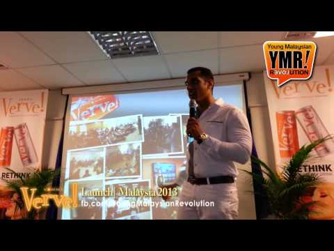 Matt Morrow ft. Arshad Daza' Young Malaysian Revolution #YMR - Verve Launch Malaysia 2013
