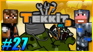 Tekkit Pt.27 |I Like Gold LLC.| Power to the new quarry