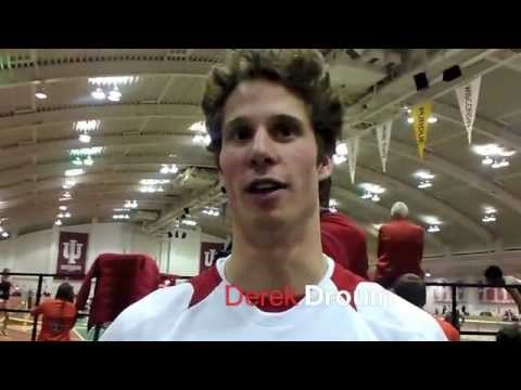 "Derek Drouin 7'7.25"" is #4 HJ in the World"