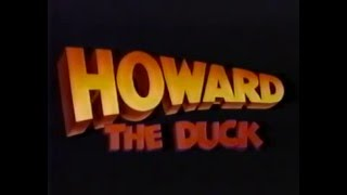80's Ads: Trailers Howard The Duck TV Spot 1986