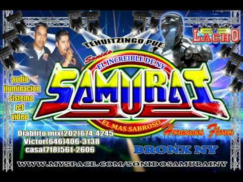 Sonido Samurai -- No Te Olvidare 2011