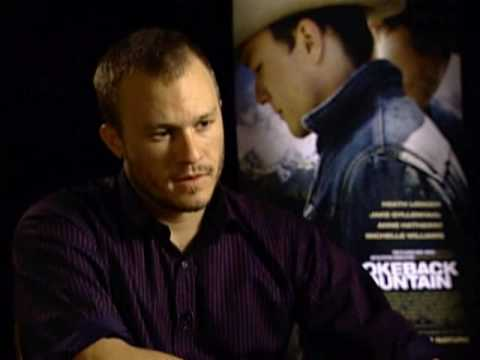 Heath Ledger Brokeback Mountain Interview video
