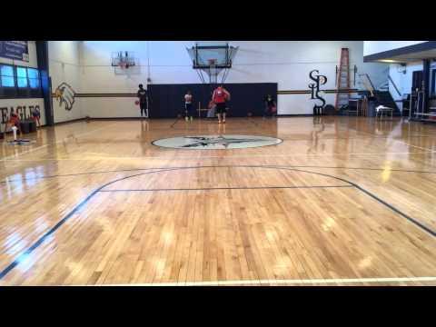Rhythmic Ball Handling with Heavy Ball..