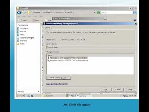 Bypass windows server 2008 activation