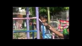 Mas Carlos dan Dik Jora Main Prosotan di Taman Kota Klaten