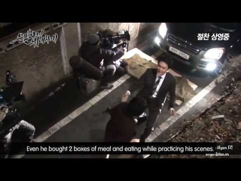 Engsub Kim Soo Hyun's Movie 2013 Secretly Greatly - Behind the Action Scenes