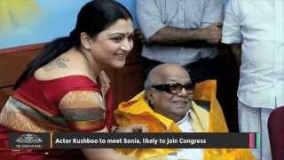 Actor Kushboo to Meet Sonia, Likely to Join Congress