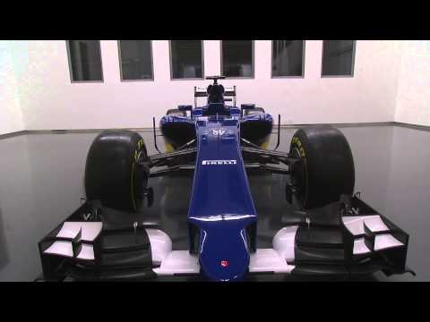 F1 2015 - Sauber - Sauber C34 Ferrari launch (car details)