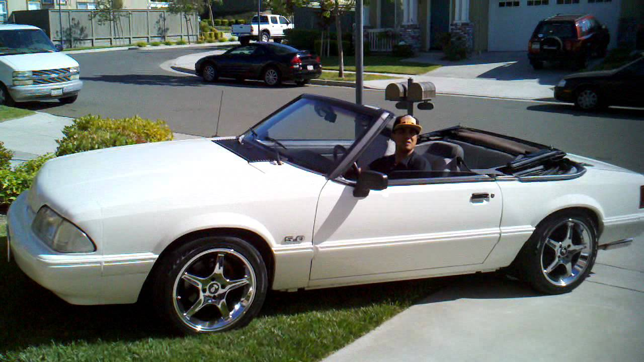 1993 Mustang Convertible 5 0 For Sale Youtube