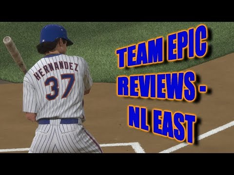 TEAM EPIC REVIEWS! - NL East - MLB The Show 18