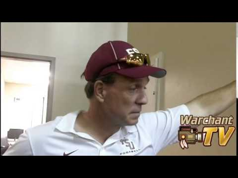 Jimbo Fisher defers to university and has no comment on Karlos Williams