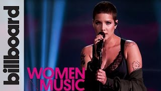 Download Lagu Halsey 'Colors' Live Performance | Billboard Women in Music 2016 Gratis STAFABAND