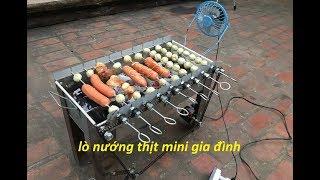 Chế lò nướng thịt mini gia đình cực tiện lợi