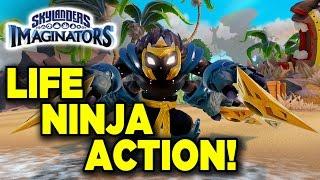Skylander Imaginators - Life Ninja Action!