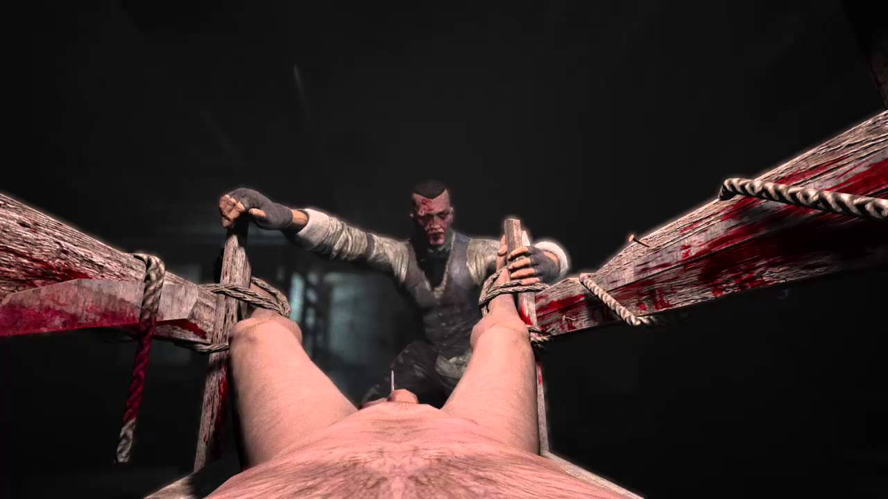 Outlast WhistleBlower castration scene - YouTube