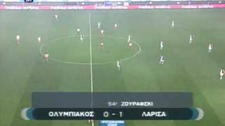 Olympiakos-AEL 0-1 Highlights Greece 2008-09