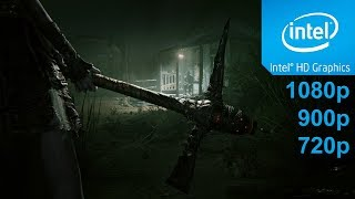 Outlast 2 Gameplay in Intel HD Graphics 4400 - No Commentary part 1