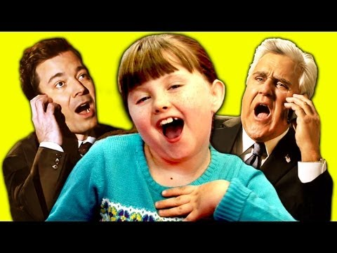 Kids React to Jimmy Fallon vs. Jay Leno