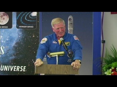 Astronaut Jon A. McBride