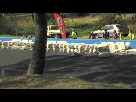 Downhill Skate CRASH compilation at Newtons Nation 2012.mov