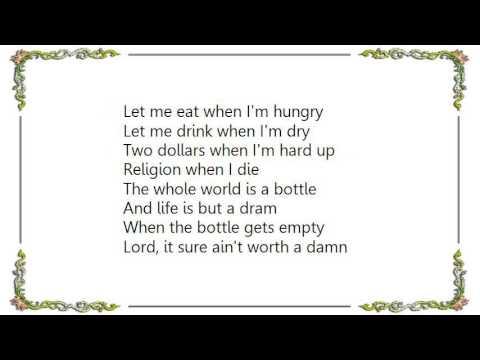Uncle Tupelo - Moonshiner Lyrics