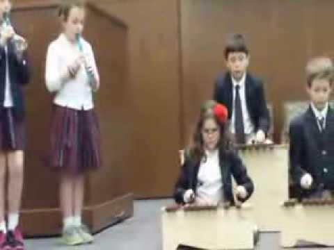 Wesley Prep 4th Grade Musical Interlude - 02/27/2014